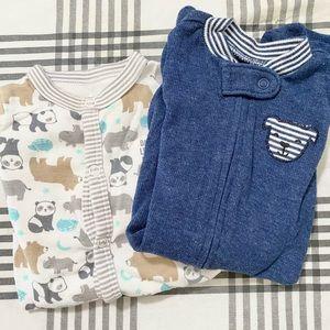Carter's Newborn Footie Pajamas